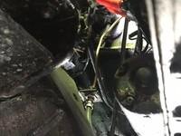 日産ダットサン クラッチの配管交換の画像1
